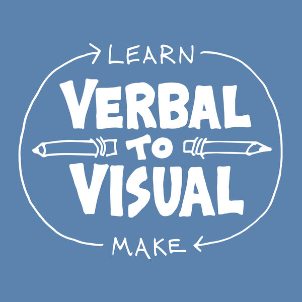 Verbal to Visual Podcast Artwork Image