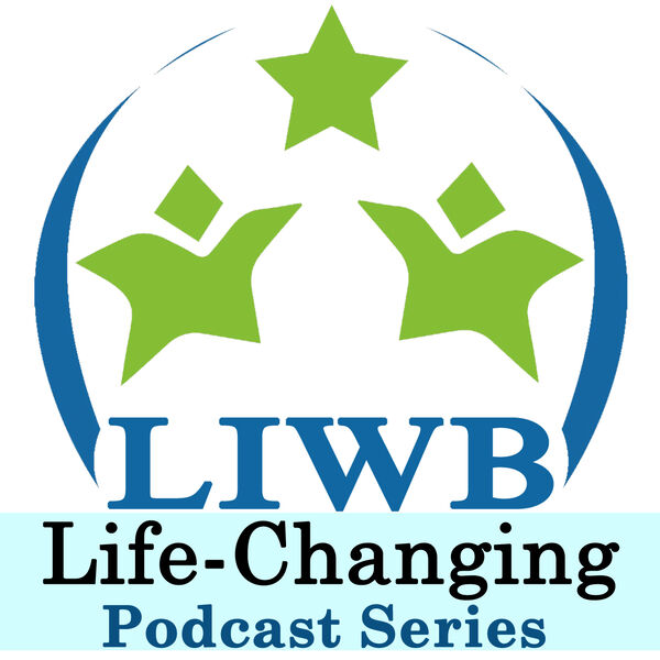 Living In Wellbeing Podcast Artwork Image