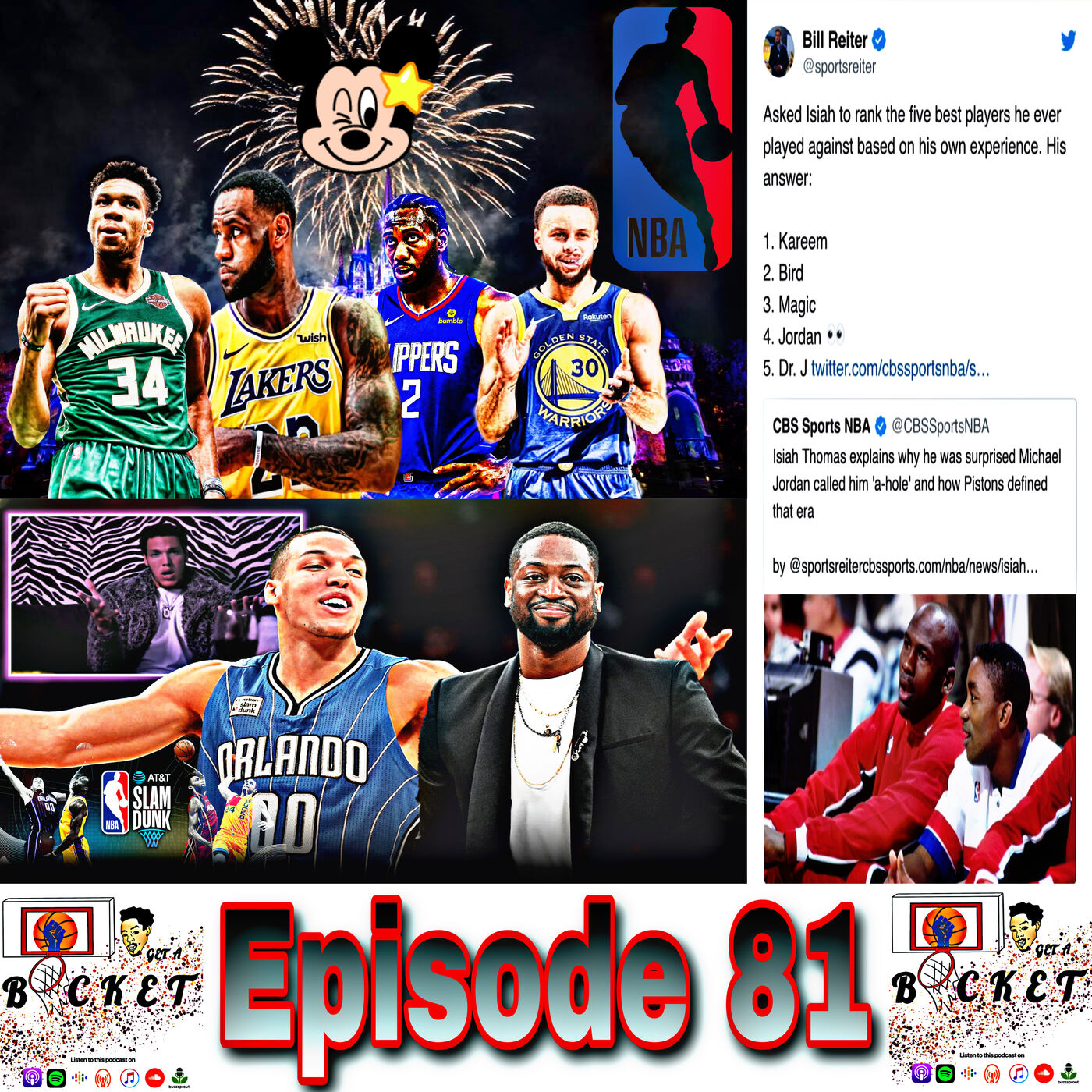 Episode 81: NBA Resuming Plans / Jordan and Isiah Beef