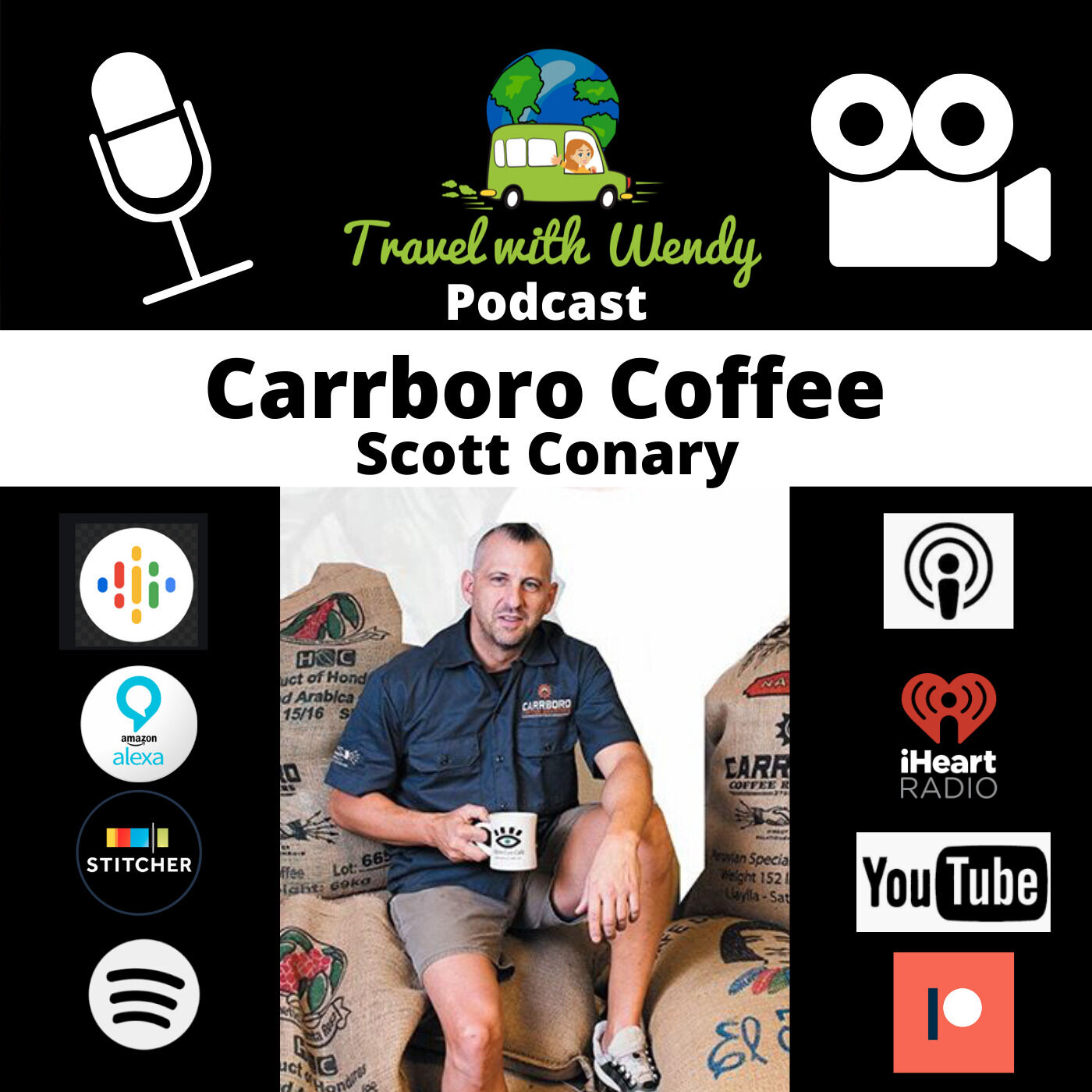 #14 - Carrboro Coffee, Scott Conary ~ for the love of coffee!