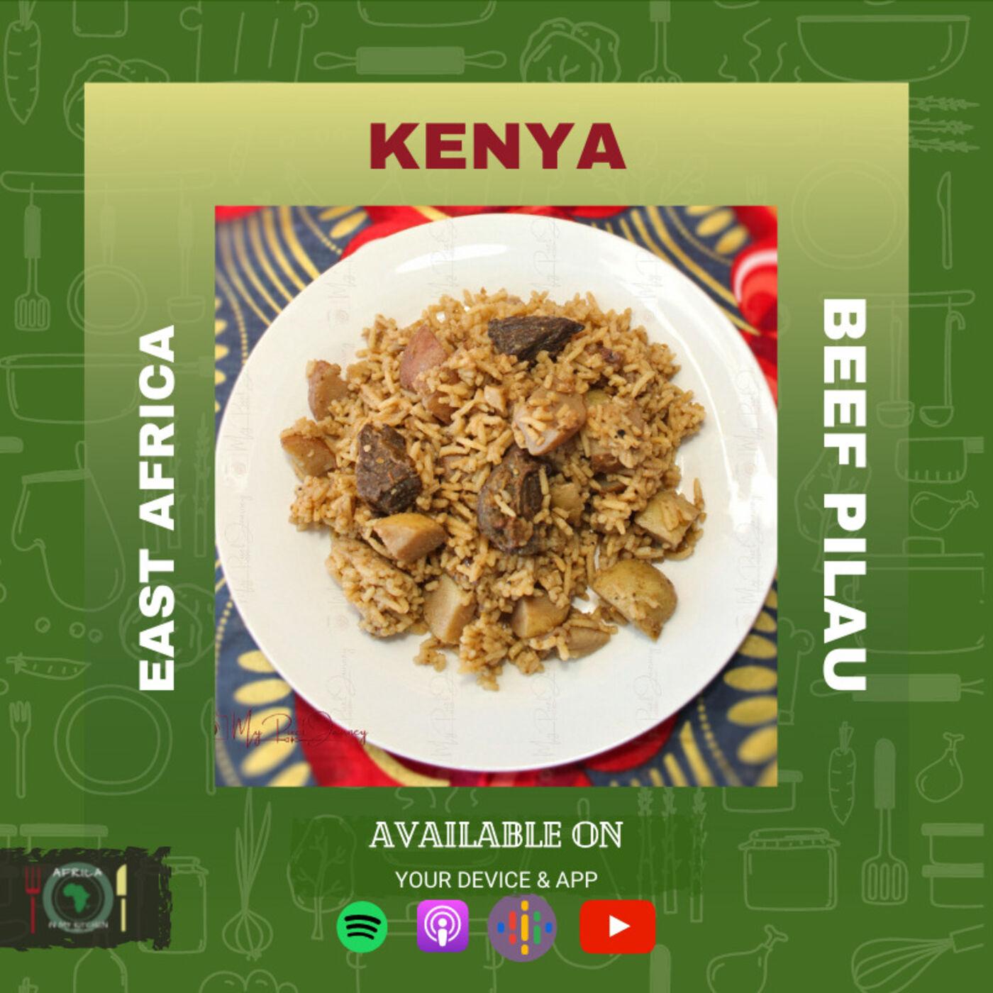Kenya - Beef Pilau