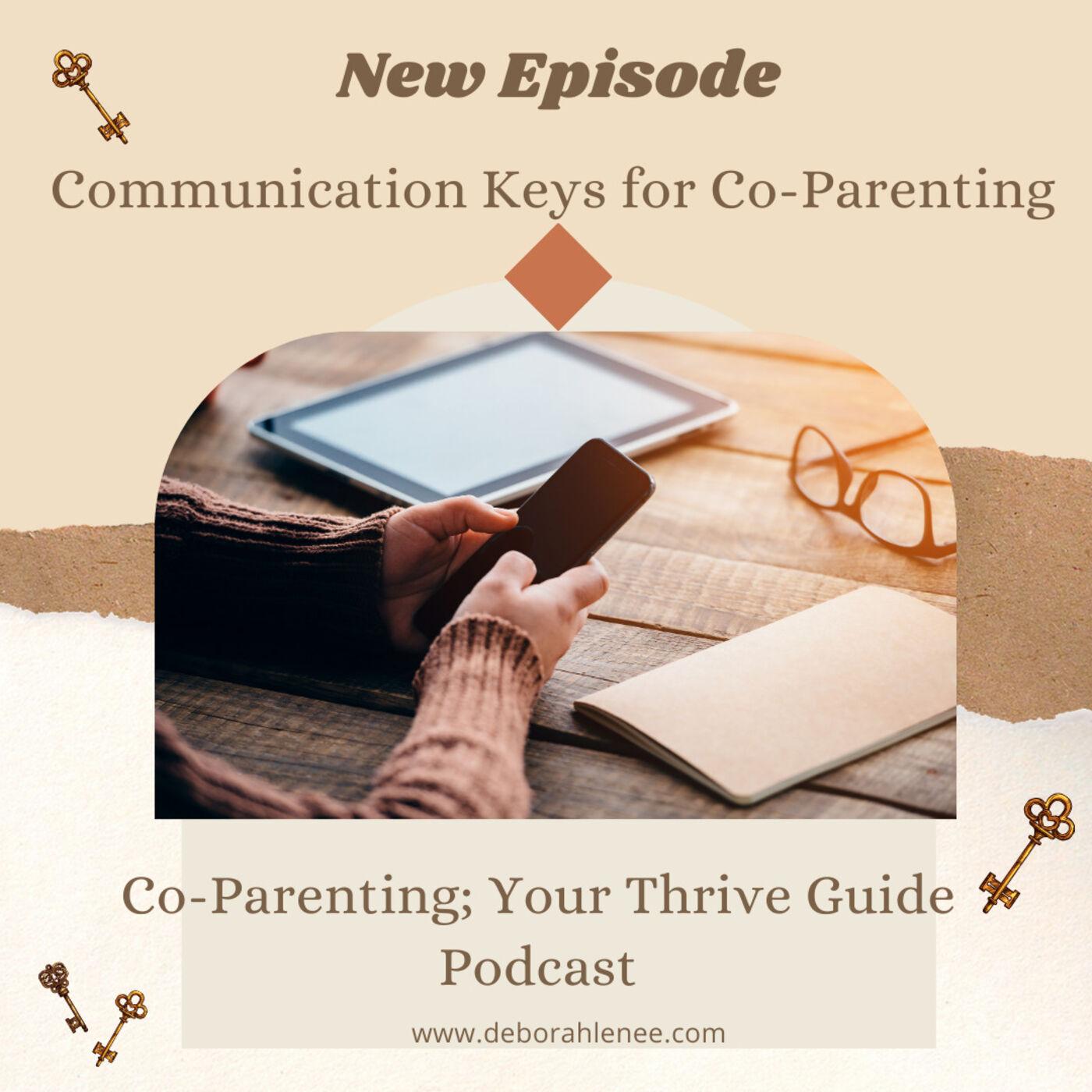 Communication Keys for Co-Parenting