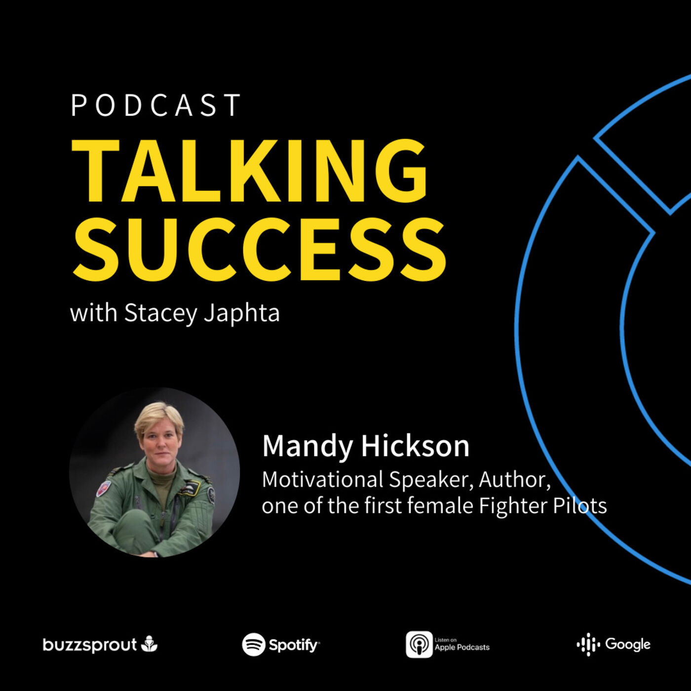 Mandy Hickson, Motivational Speaker, author, & one of the first female fighter pilots - How to improve communication with teams & tips on becoming a motivational speaker
