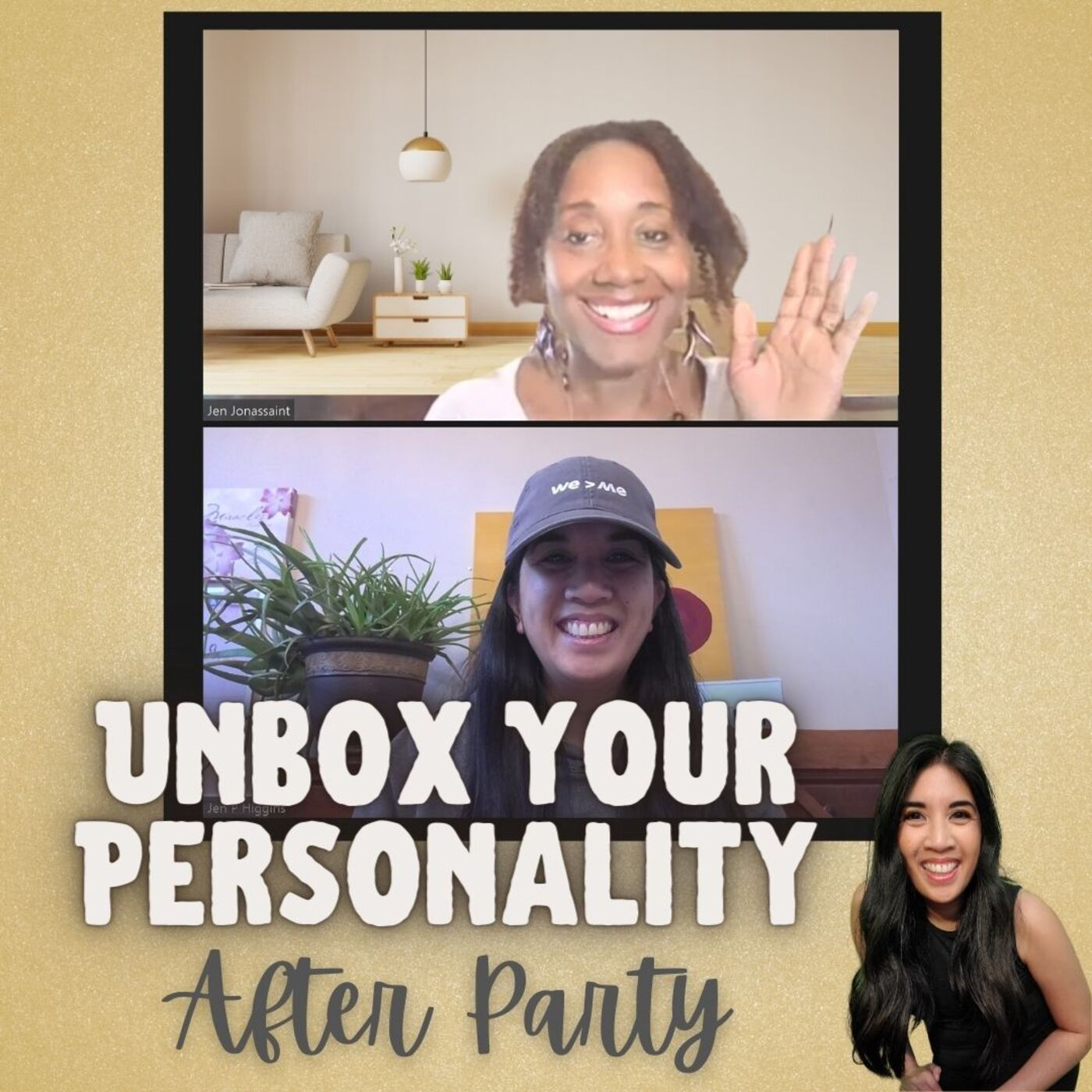Ep012 - More on Wings, Types 1, 3, 5, 6, 7, 8, and Self-Care - The After Party with Jen Jonassaint, Type 7