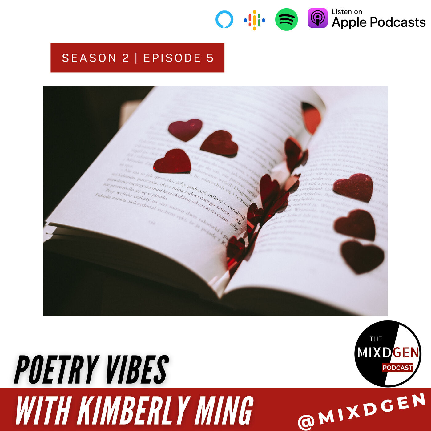 Poetry Vibes with Kimberly Ming