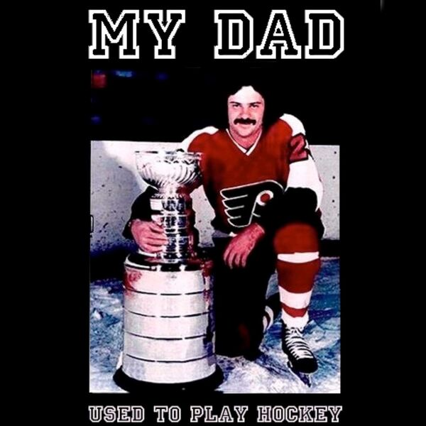 My Dad Used to Play Hockey Podcast Artwork Image