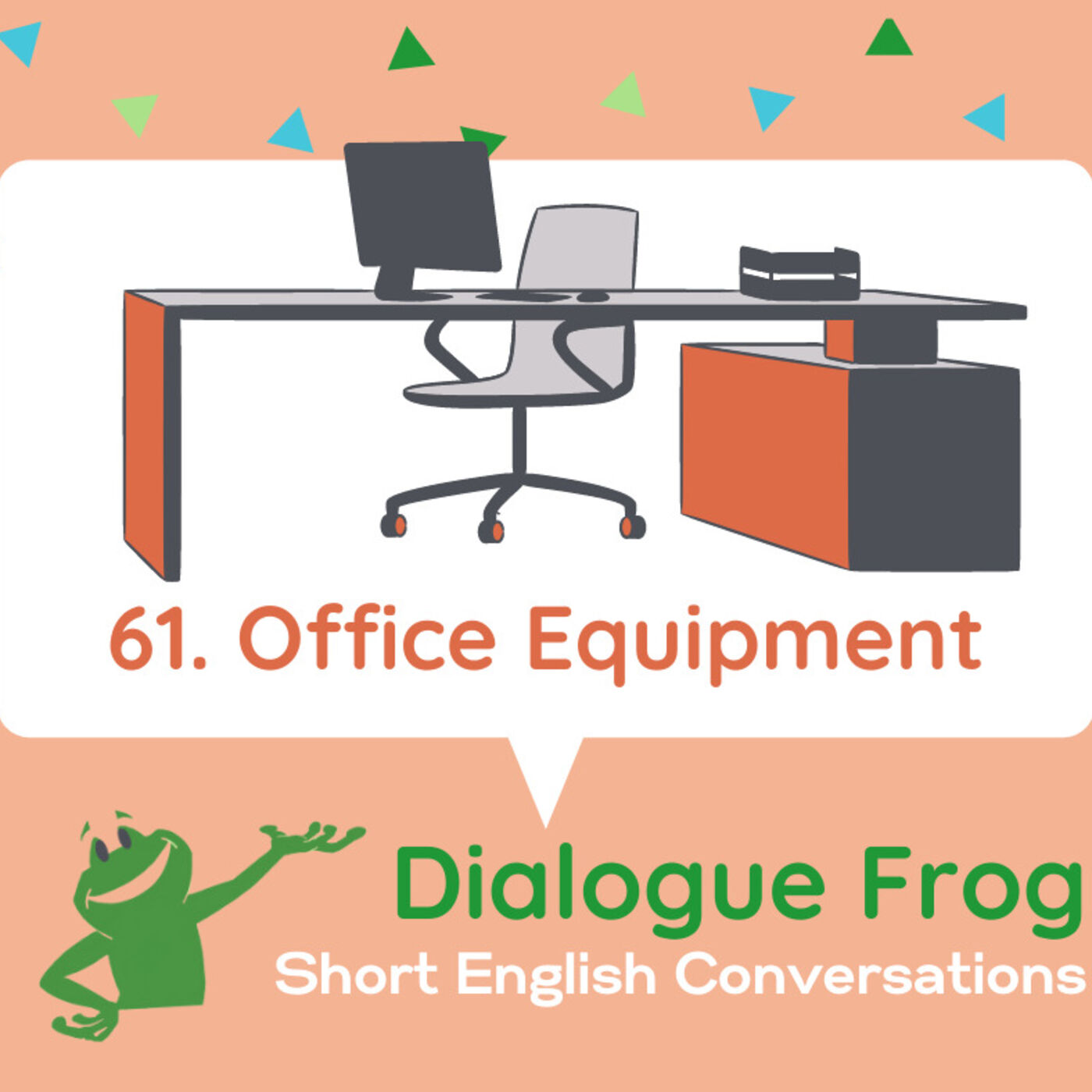 061 Office Equipment – Short Conversation in English