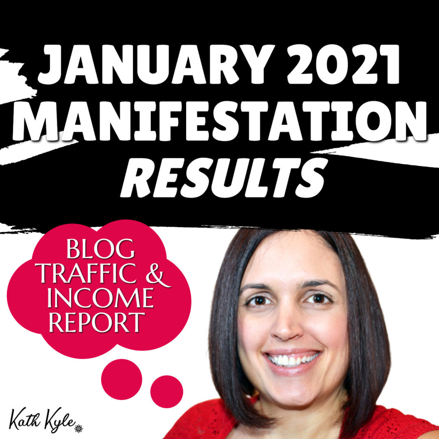 January 2021 Manifestation RESULTS: Blog Traffic & Income Report