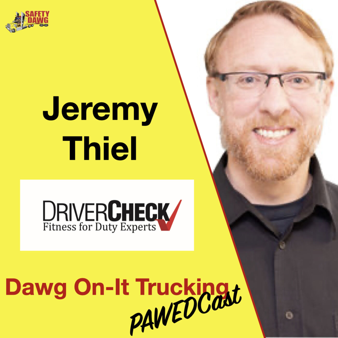 23. Jeremy Thiel, DriverCheck, Drug and Alcohol Clearinghouse, Cognitive Testing