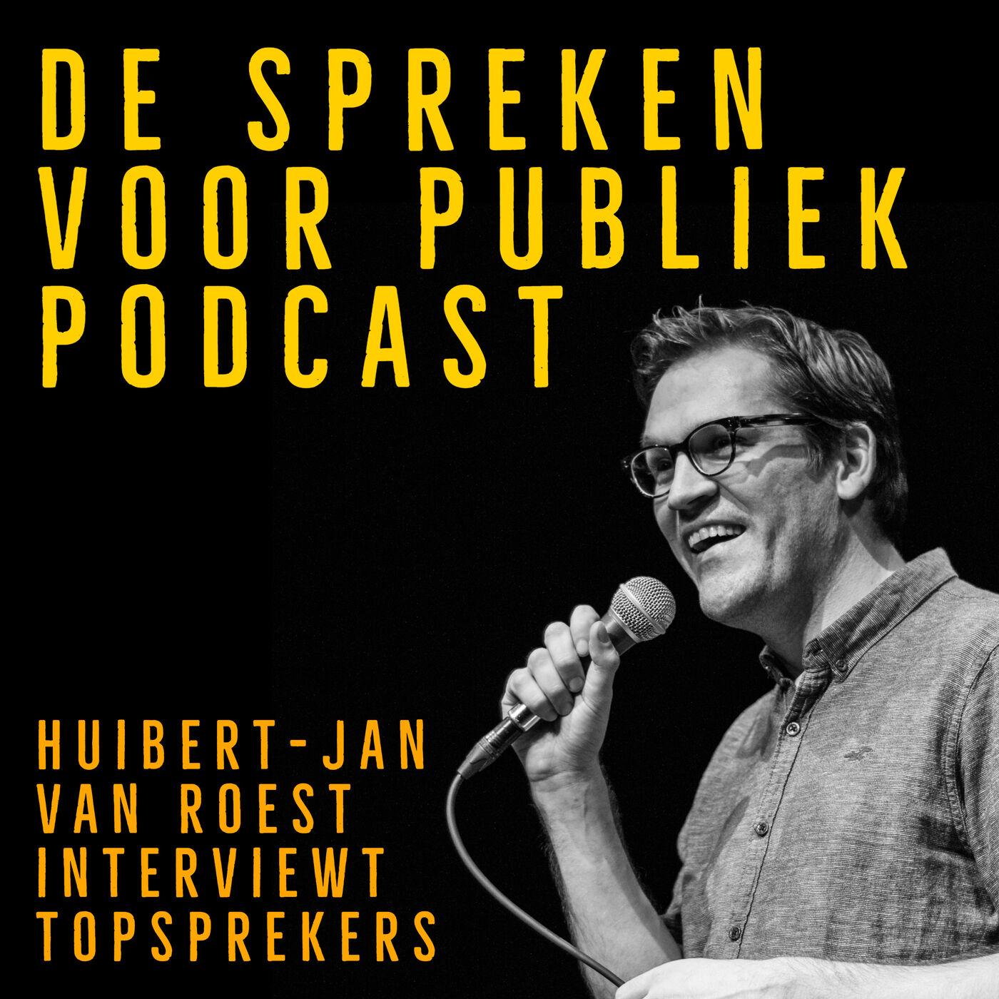Spreken voor publiek Podcast logo