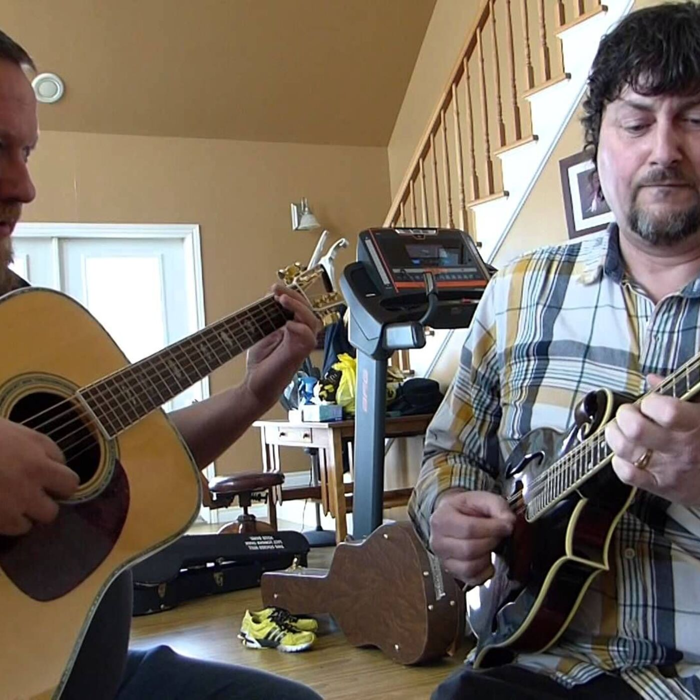 Episode 109 Ray Legere and J.P.Cormier: Two Atlantic Canadian  Outstanding Musicians