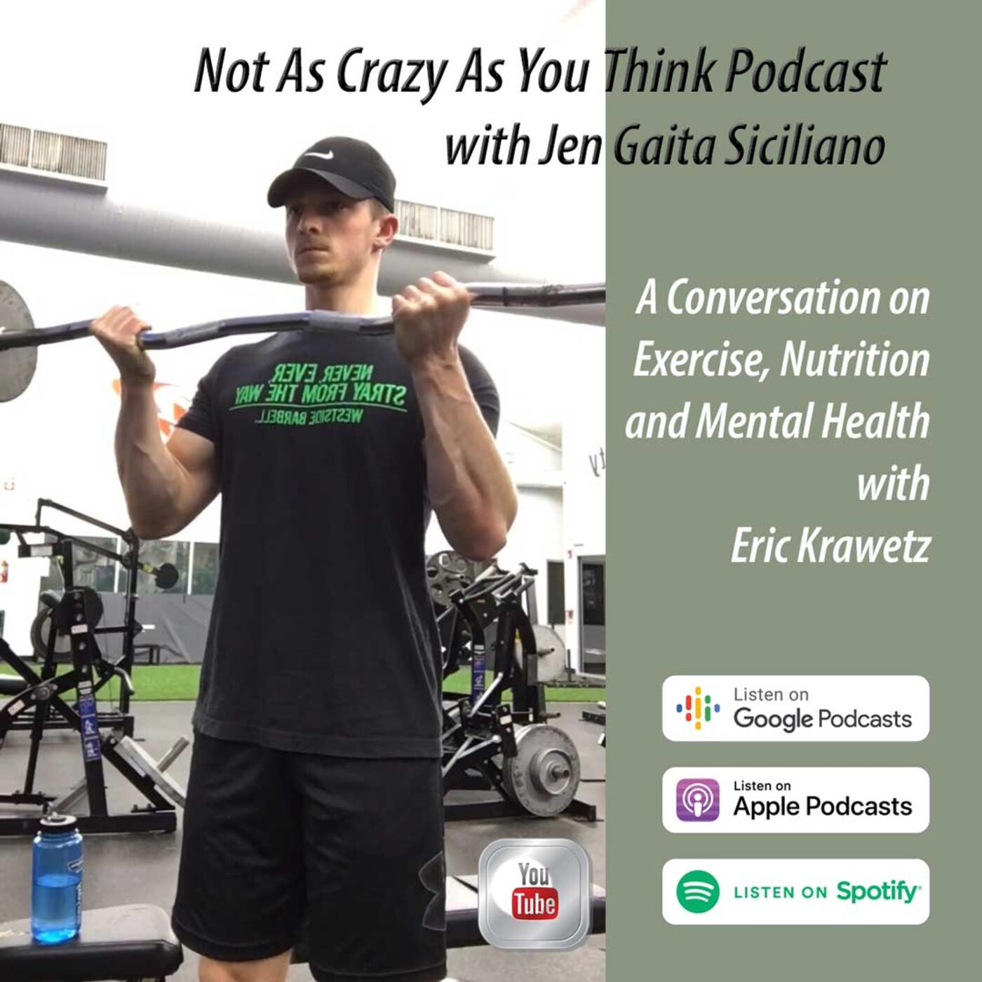 Creating a Fit Lifestyle: Exercise and Nutrition for Maintaining Mental Health with Eric Krawetz (S2, E17)