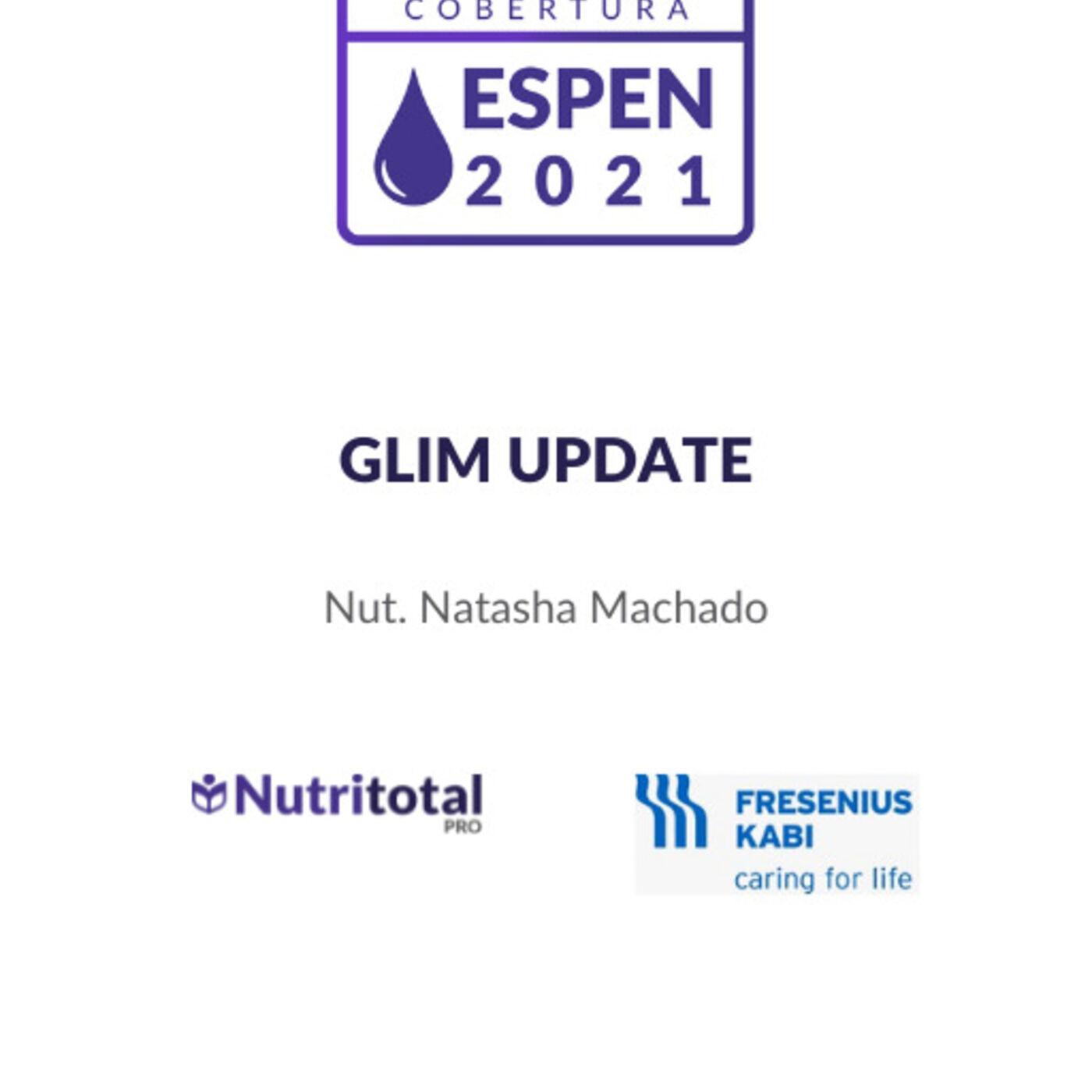 Congresso ESPEN 2021: GLIM Update