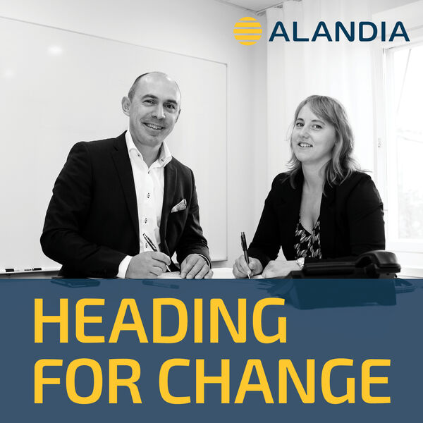 Heading for change - Alandia Podcast Artwork Image