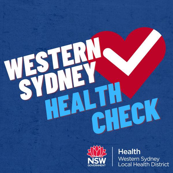 Western Sydney Health Check  Podcast Artwork Image