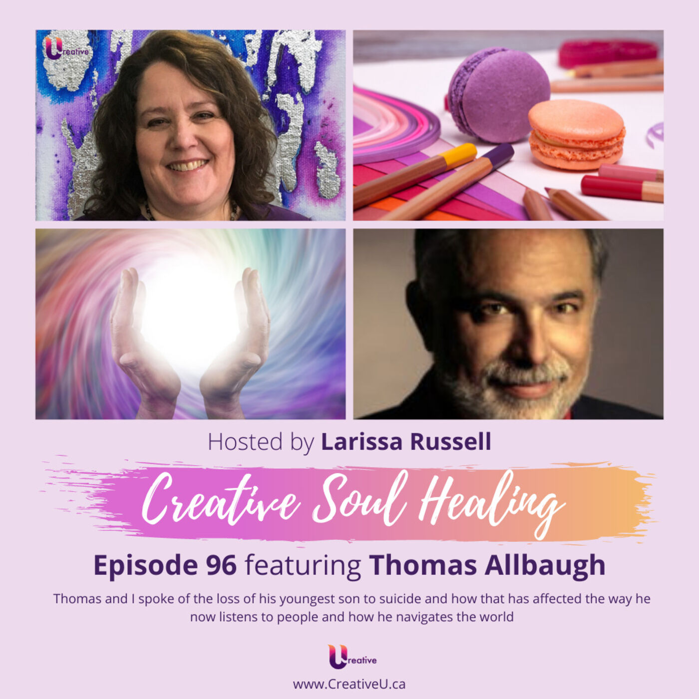 Episode 96 featuring Thomas Allbaugh: Suicide and Grief