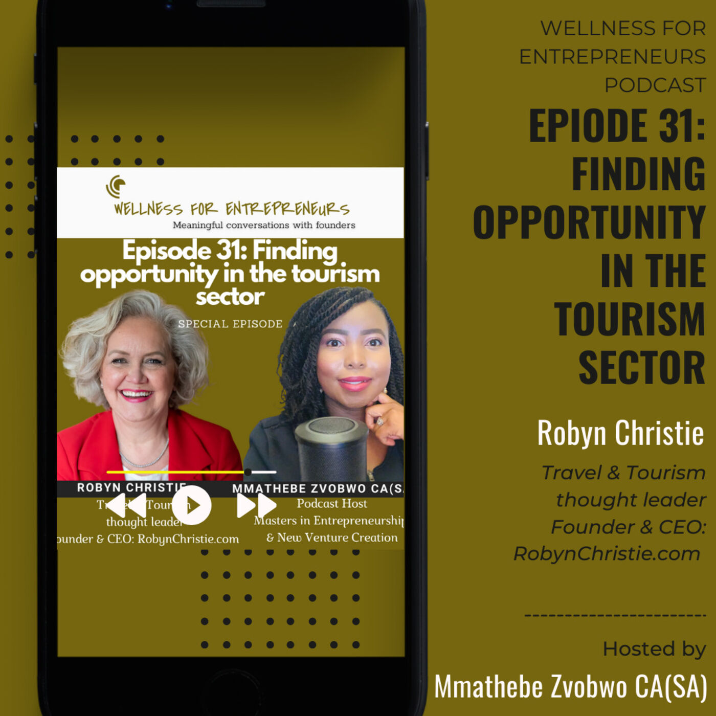 Episode 31: Finding opportunity in the tourism sector, with Robyn Christie