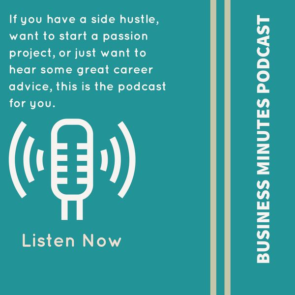 Business Minutes Podcast Podcast Artwork Image