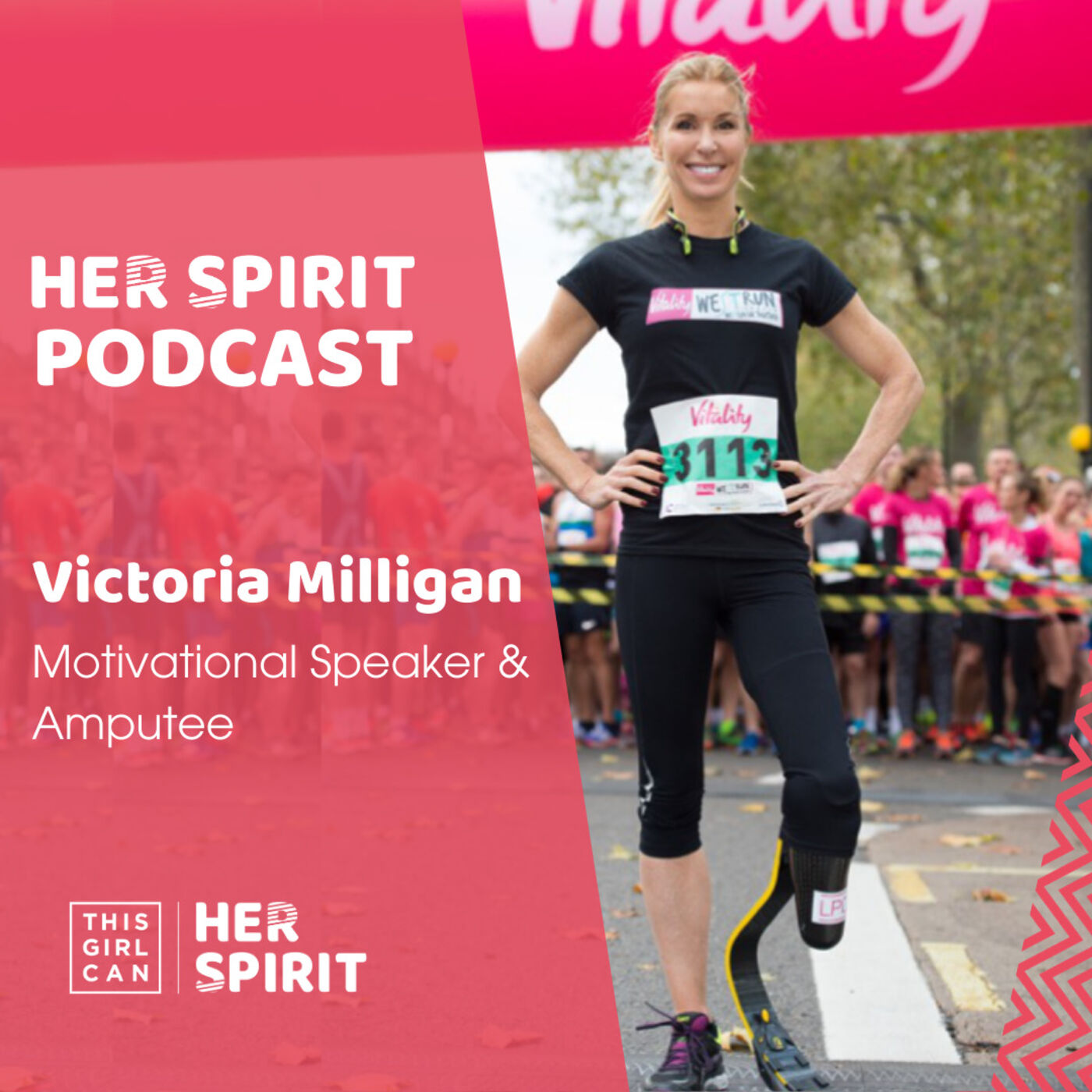 Motivational speaker and amputee Victoria Milligan talks openly to Annie and Louise about her accident in 2013 where she lost her husband, daughter and a leg in a speedboat accident.