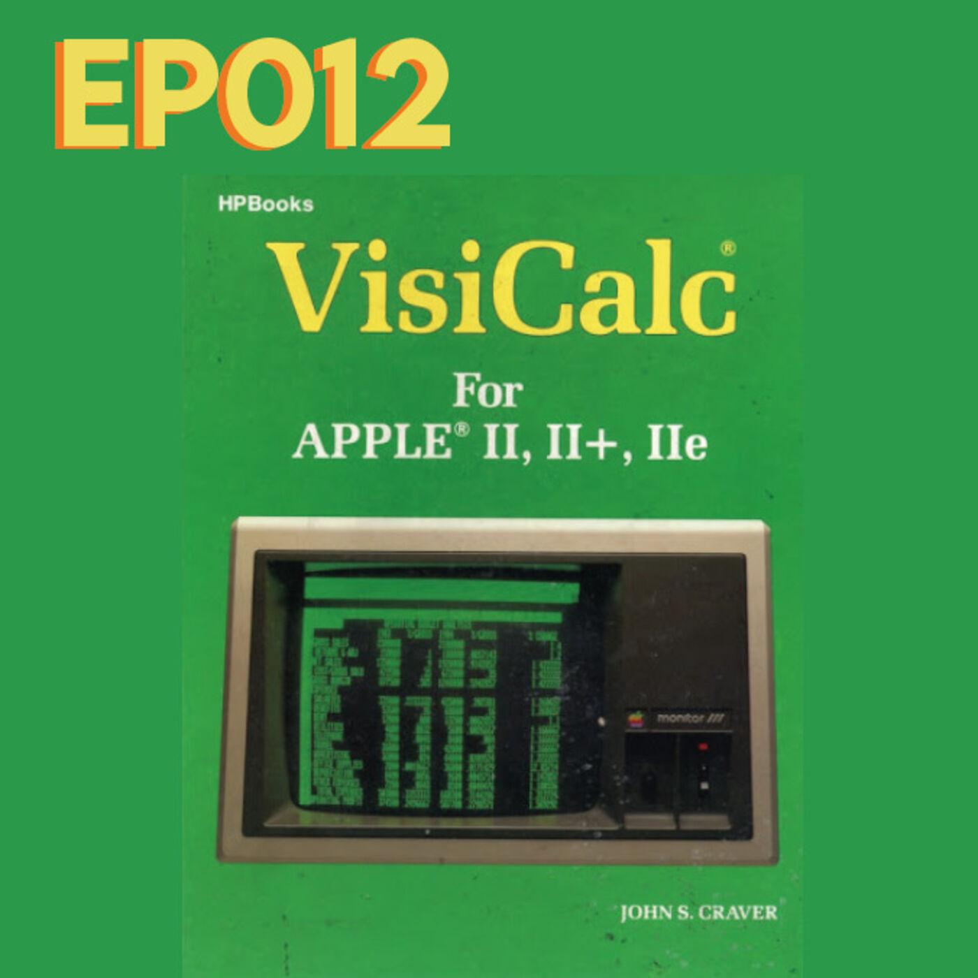 EP012 Desde VisiCalc el primer software contable de la historia, hasta el  software en la nube