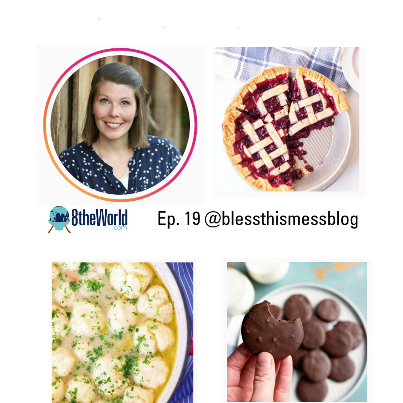 Ep 19 Melissa Griffiths - Blessthismessblog