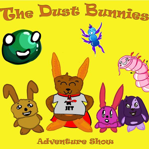 The Dust Bunnies Adventure Show Podcast Artwork Image