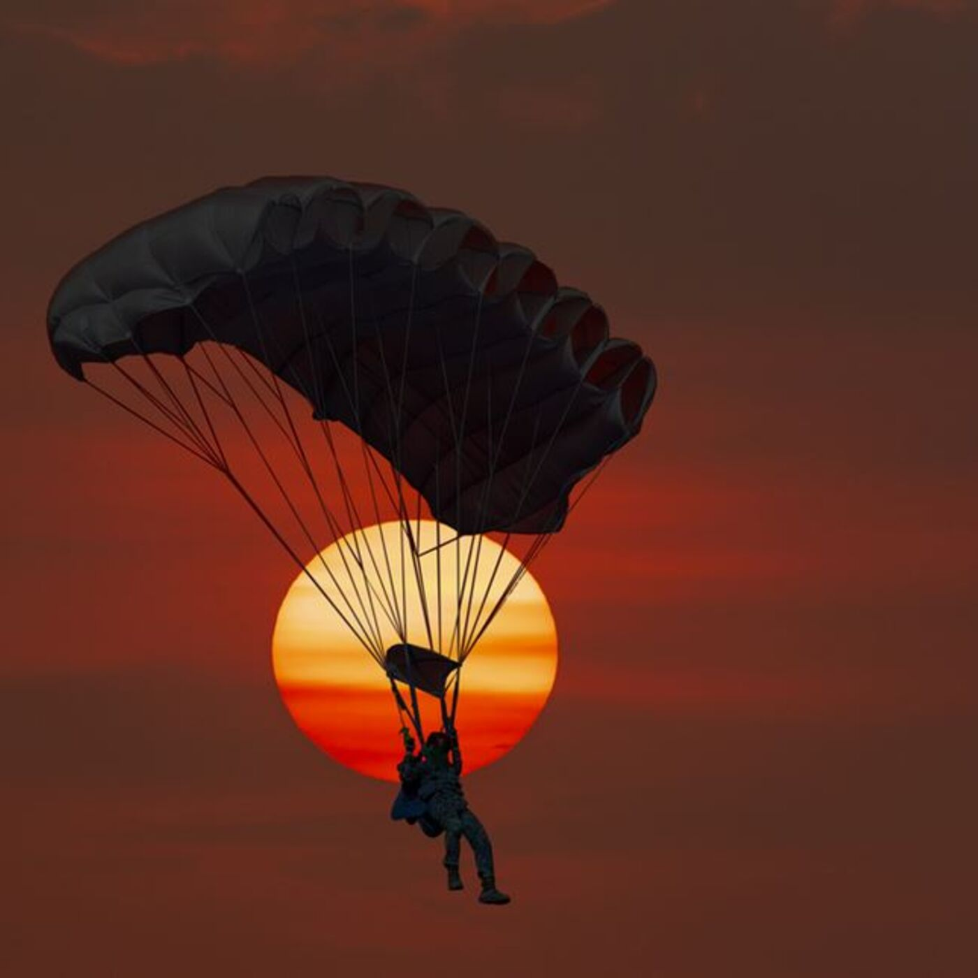 My First Parachute Jump Ever -- And My Last
