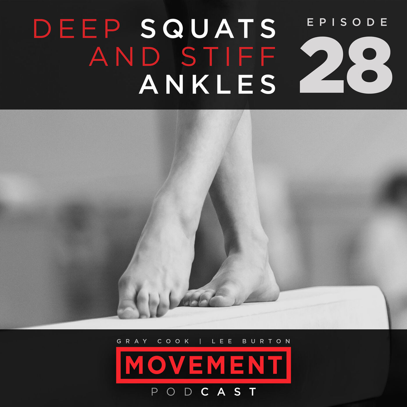 Deep Squats and Stiff Ankles