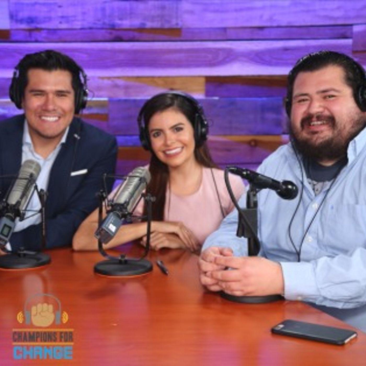 Podcast#6 - Champions for Change - Sandy Idalia Valles
