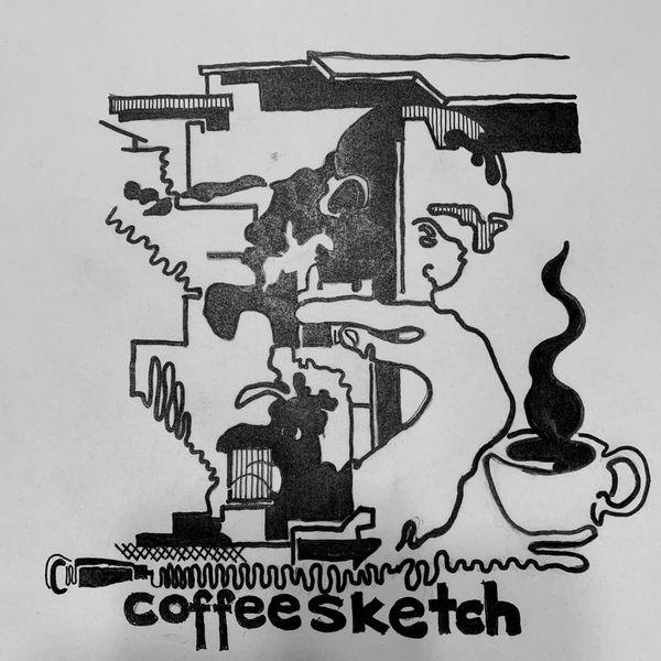 Coffee Sketch Podcast Podcast Artwork Image