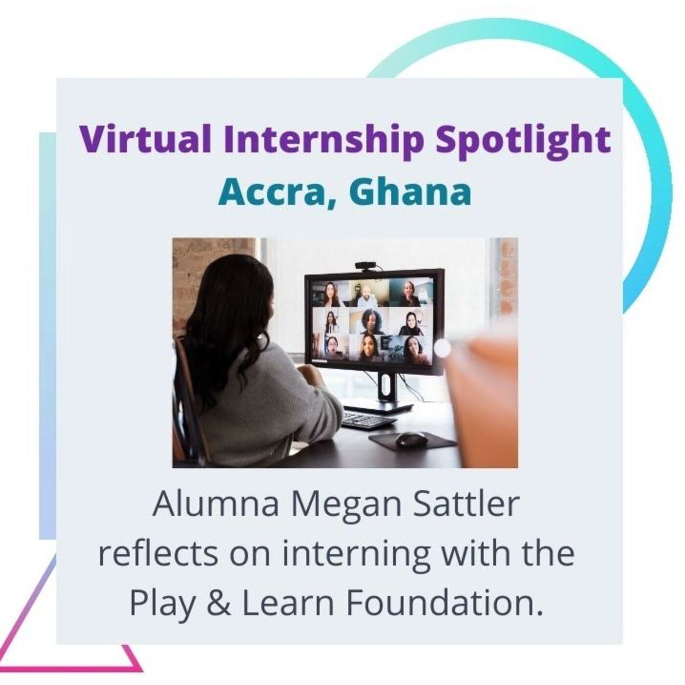 Season 2 - #4: Virtual Internship Spotlight & Intern Reflection