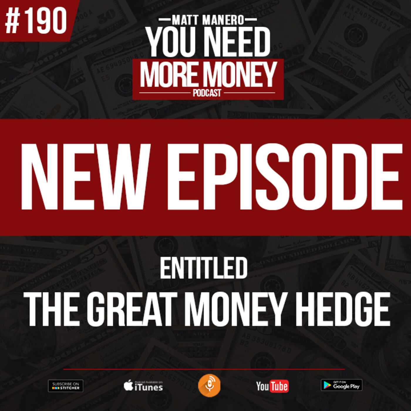 Episode #190 INCREDIBLE YET SIMPLE $$ STRATEGY with Matt Manero