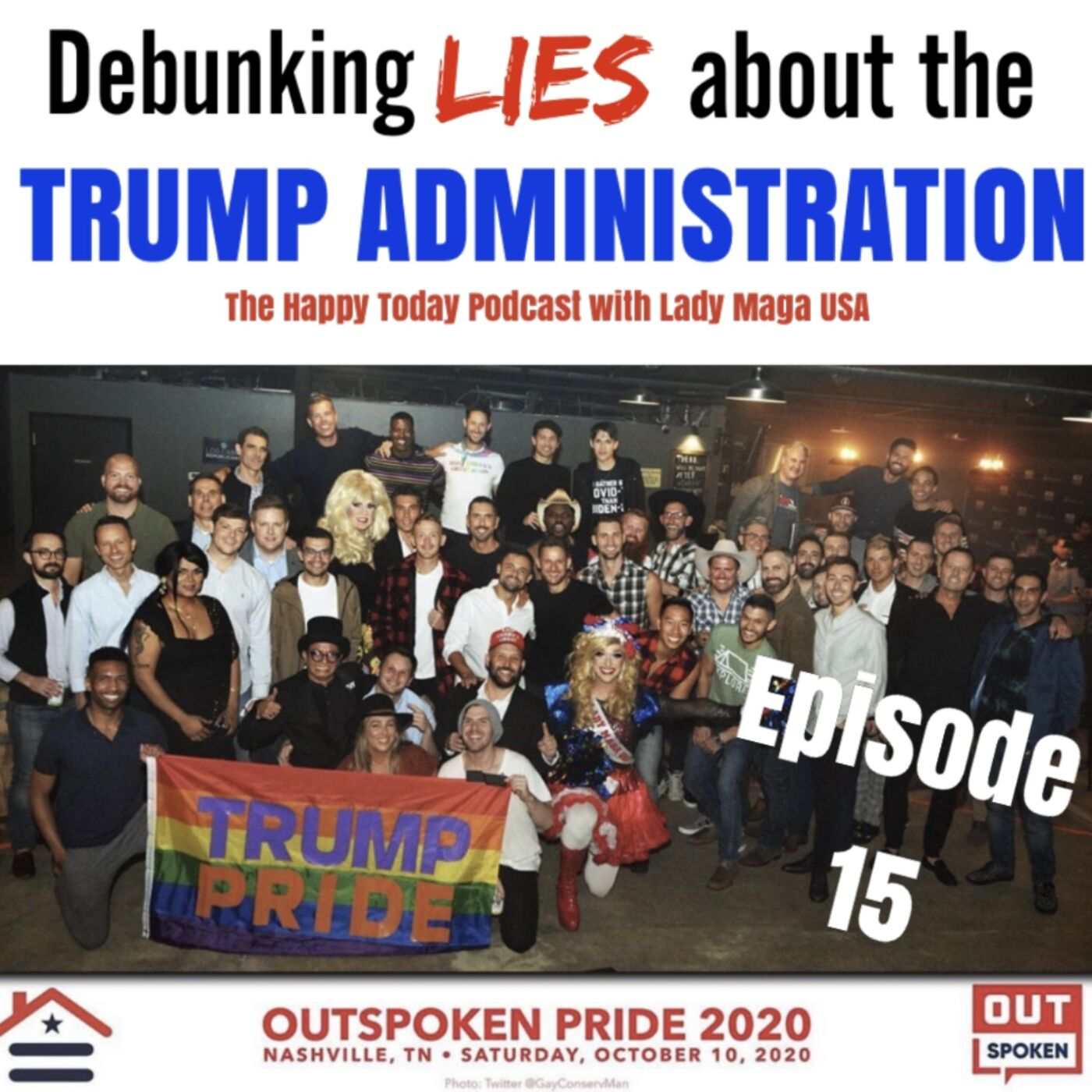 Episode 15: Debunking LIES about the TRUMP ADMINISTRATION!