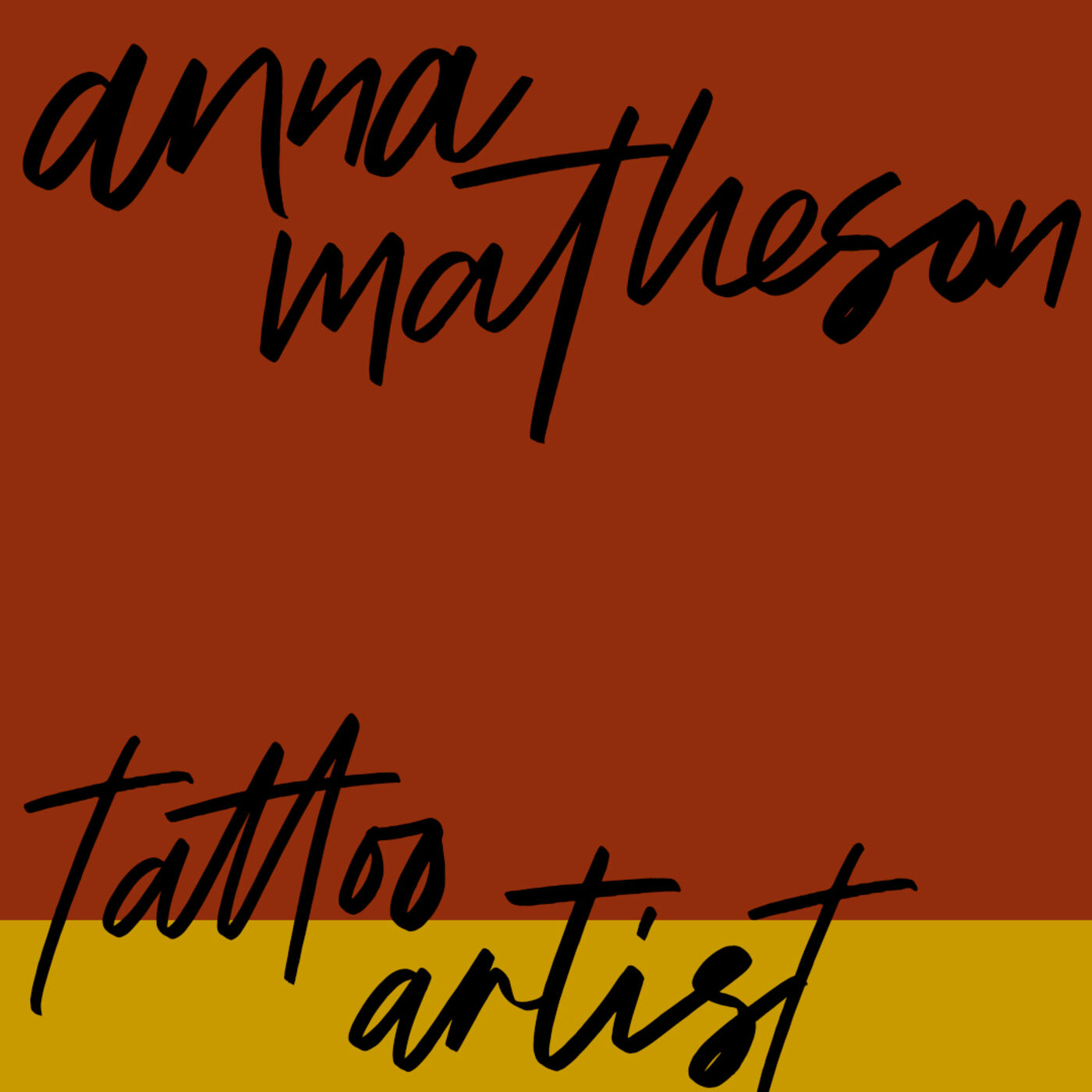 """#67: Tattoo Artist: Anna Matheson - """"There is room for this"""""""