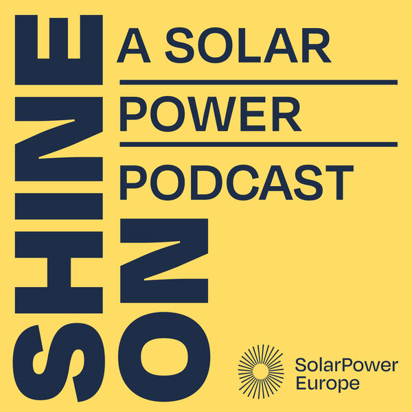 Shine On with SolarPower Europe Podcast Artwork Image