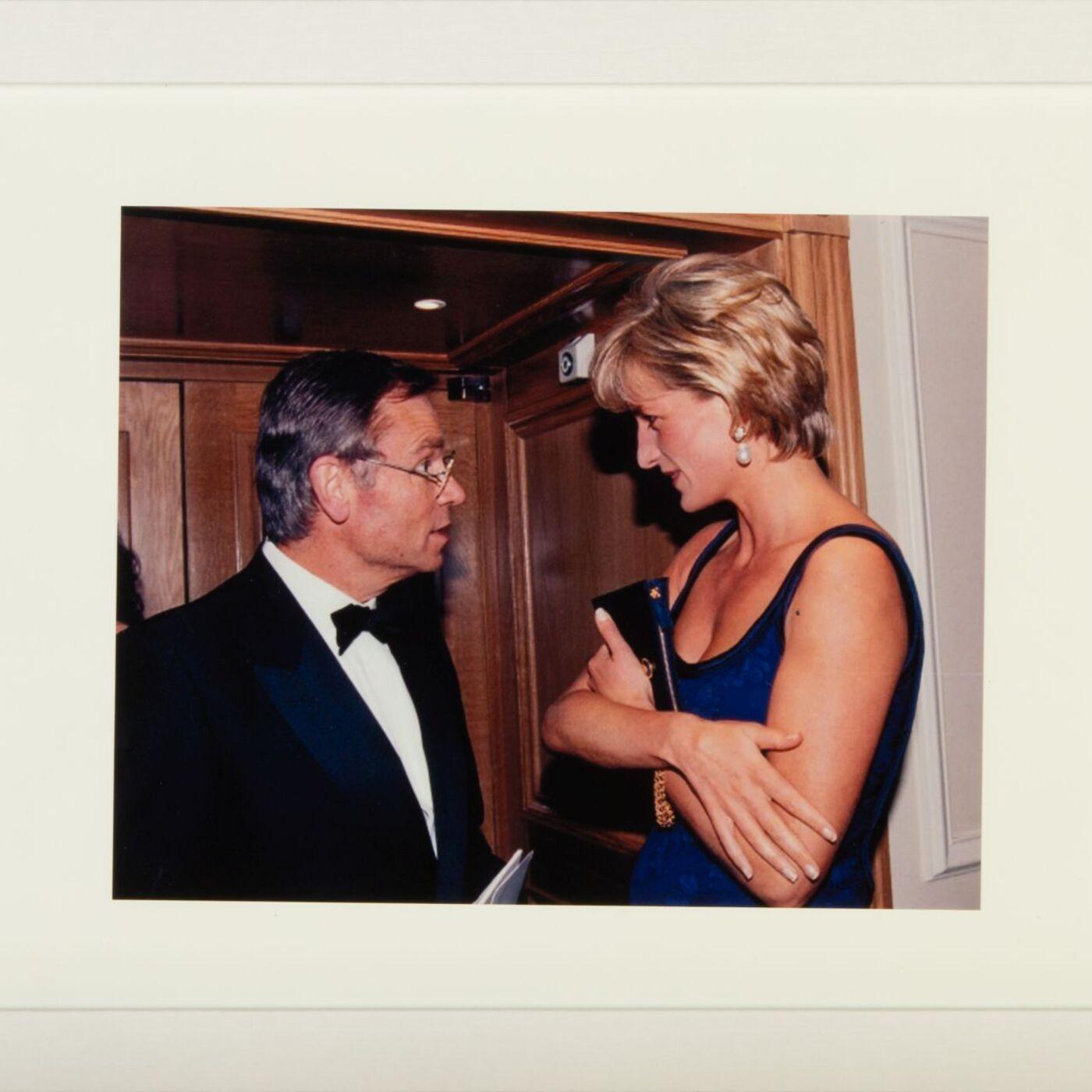 Princess Diana Museum - Jeffrey Archer, Author, Politician & Princess Diana Confidant