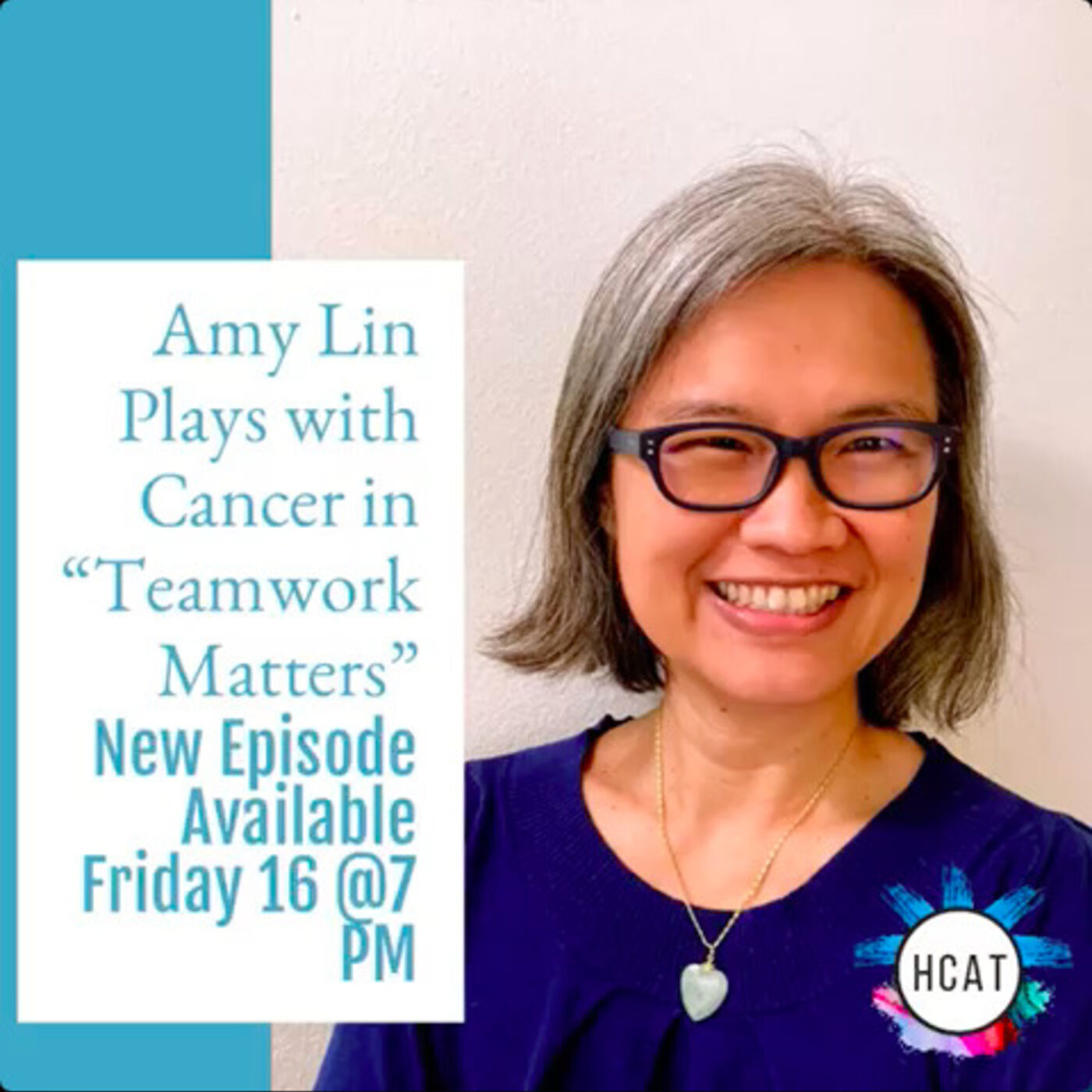 """Amy Lin Plays with Cancer in """"Teamwork Matters"""""""