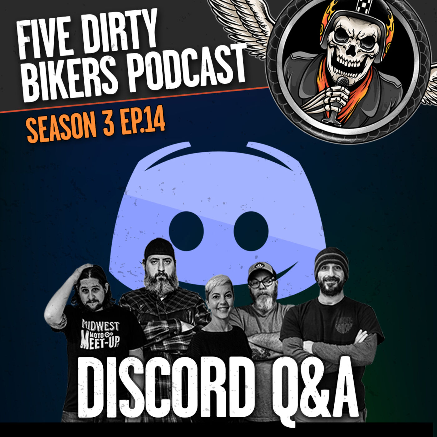 S3 | EP14 Discord Q&A / T. Baggins & The Angry Ostrich