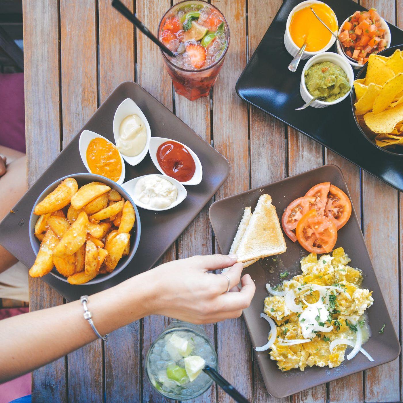 Eating Finger Foods