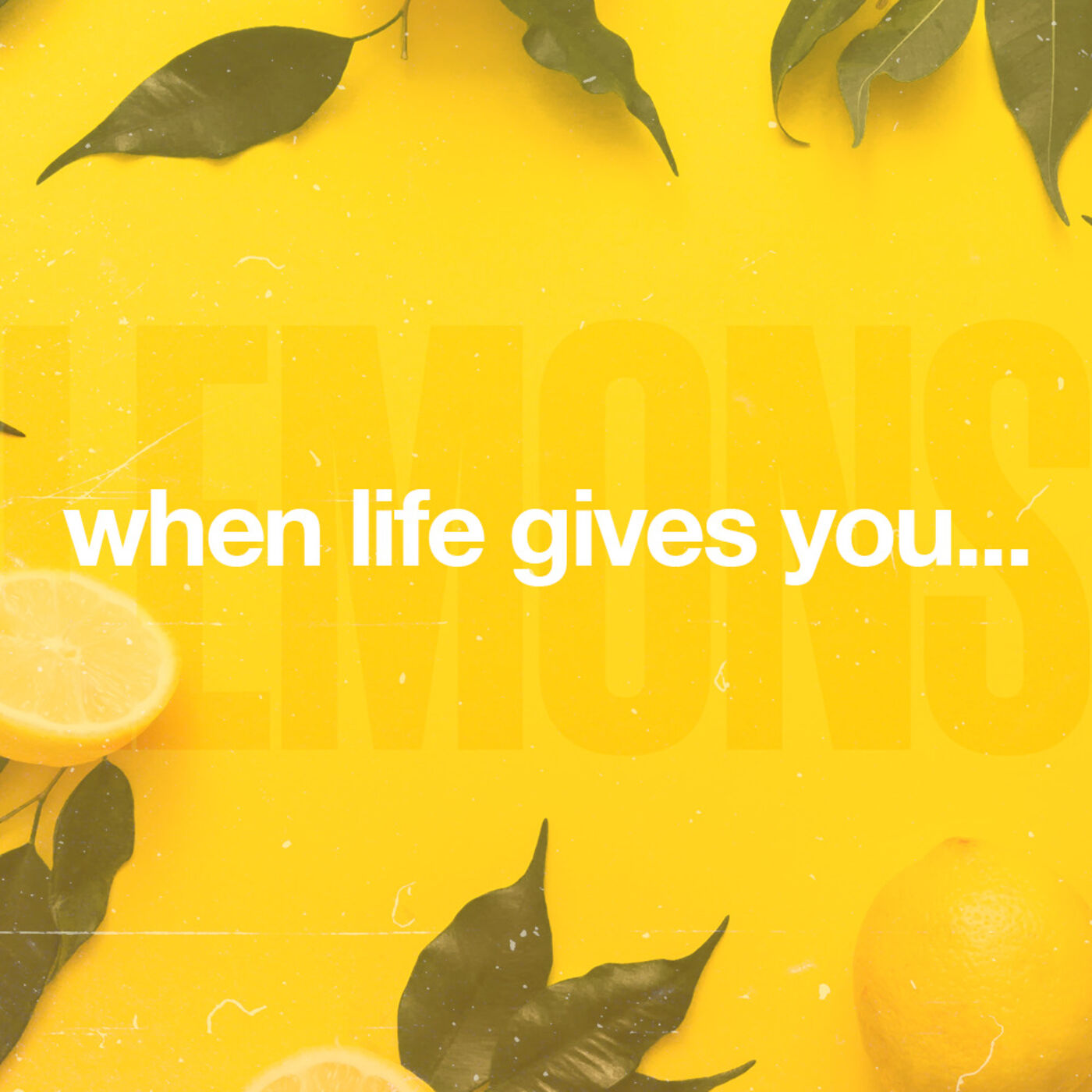 "Wise Up - Part 5 of ""When Life Gives You Lemons"