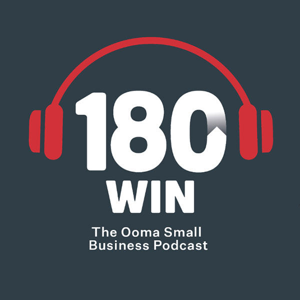 180 Win - The Ooma Small Business Podcast  Podcast Artwork Image