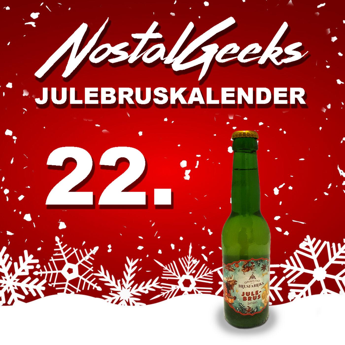 NostalGeeks Julebruskalender - 22 -  Grimstad Brusfabrikk Julebrus