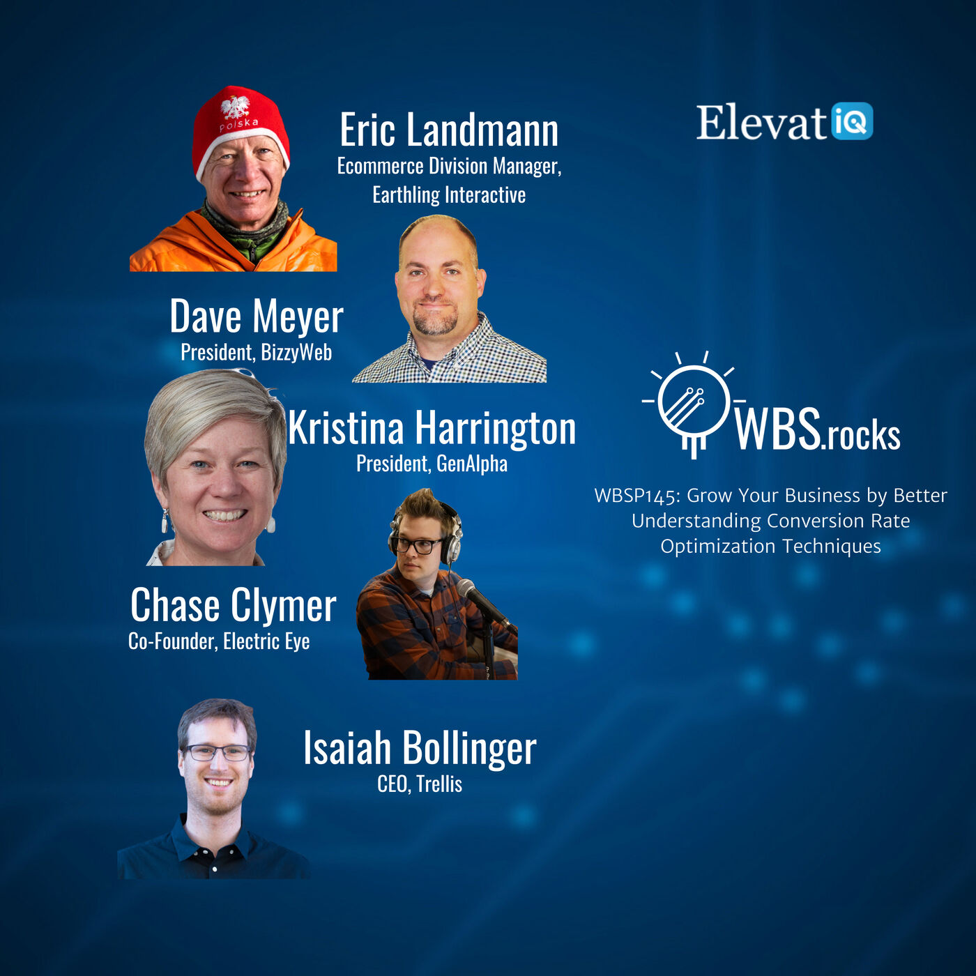 WBSP145: Grow Your Business by Better Understanding Conversion Rate Optimization Techniques, a Live Interview w/ a Panel of Experts