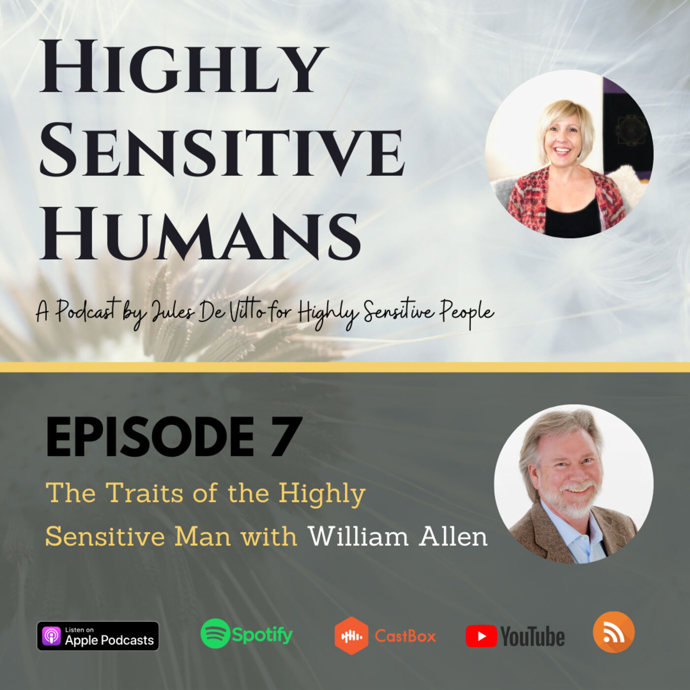 The Highly Sensitive Man with William Allen