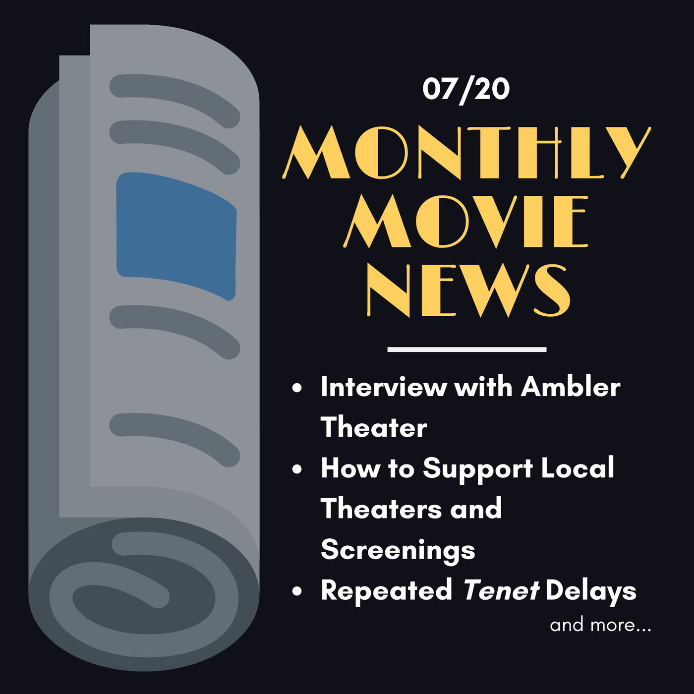 MMN: Ambler Theater Interview, Supporting Local Venues, Tenet Codependency