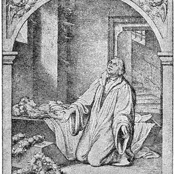 Martin Luther's Evening Prayer Podcast Artwork Image