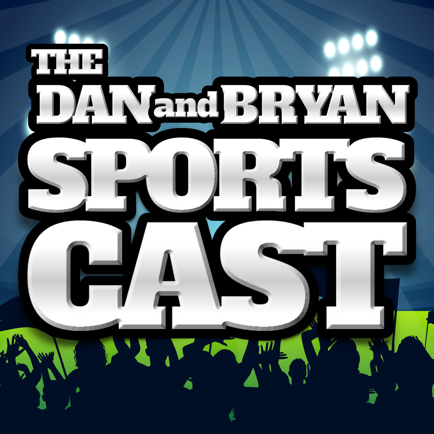 The Dan and Bryan Sportscast Logo