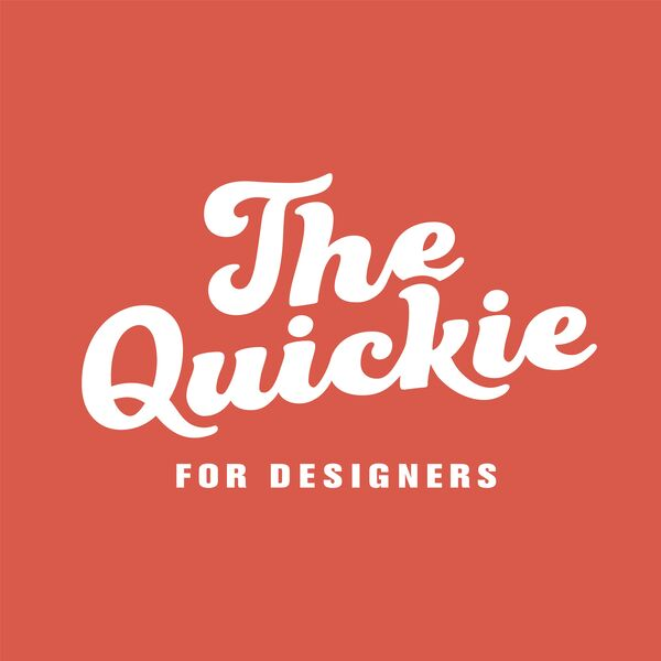 The Quickie - Interviews for Graphic Designers Podcast Artwork Image