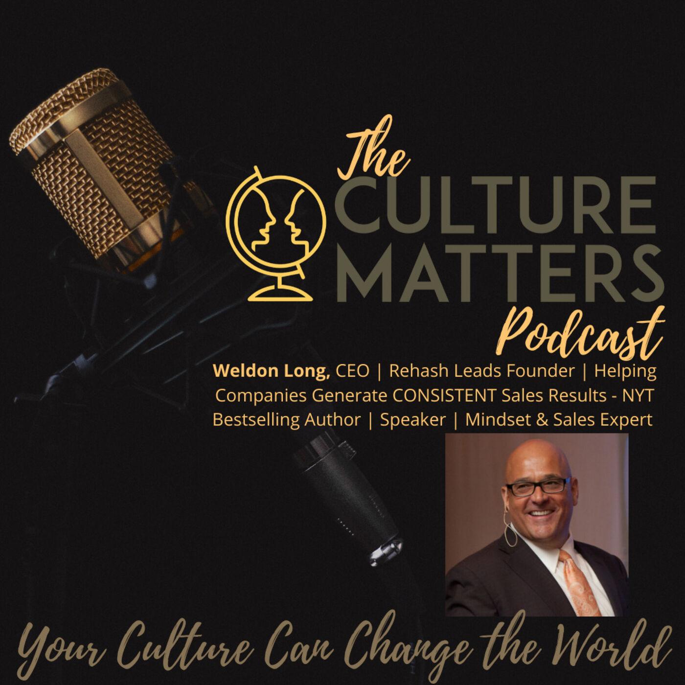 Season 7, Episode 77: Guest: Weldon Long: Improve Your Awareness
