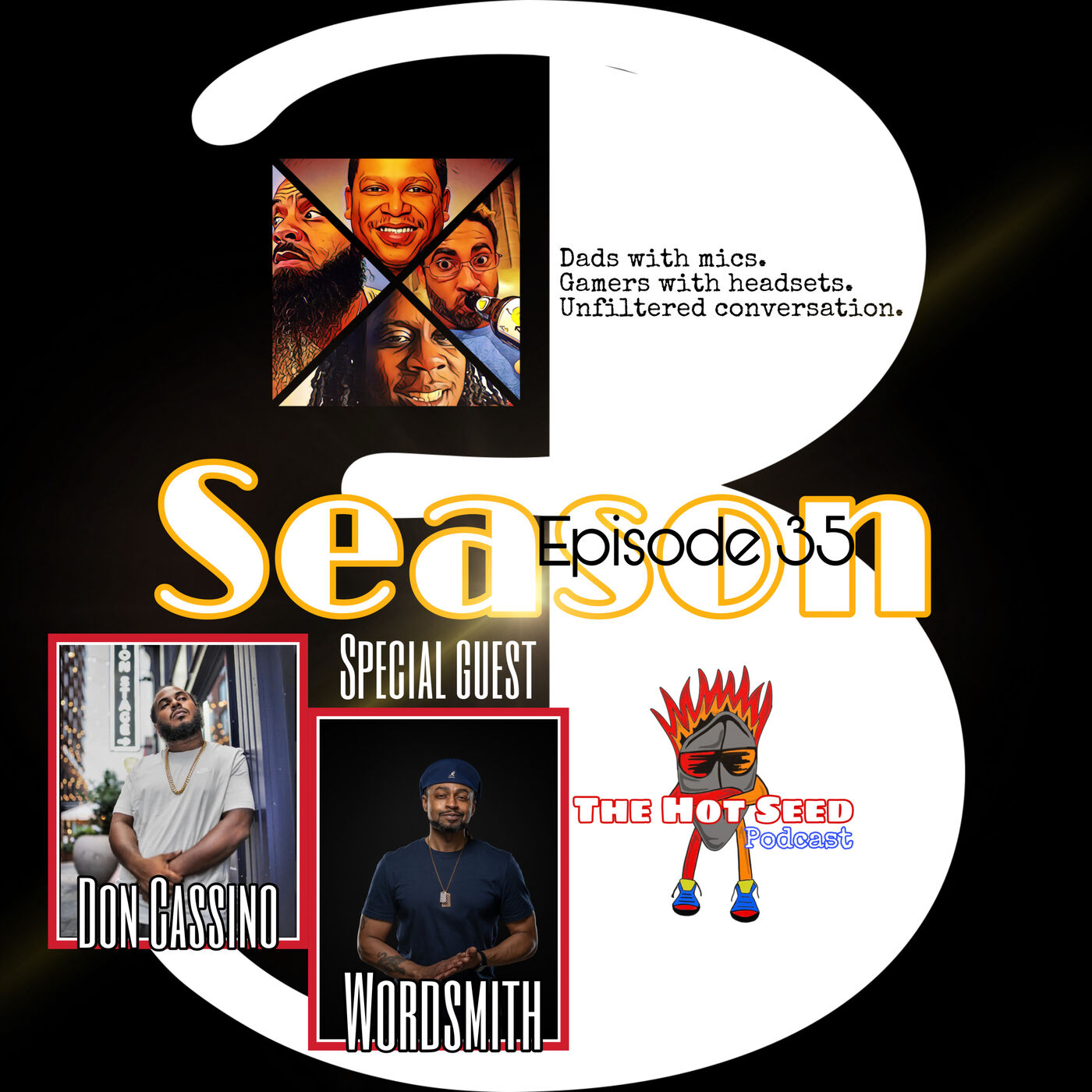 Ep.35 Barz with special guest Don Cassino and Wordsmith